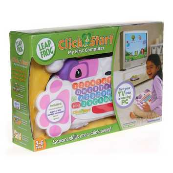 LeapFrog Clickstart My First Computer Pink for Sale on Swap.com