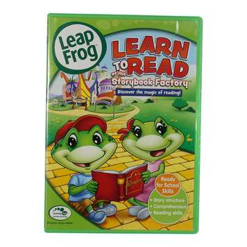 : LeapFrog: Learn to Read at the Storybook Factory [DVD] [2005] for Sale on Swap.com