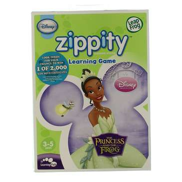 LeapFrog Zippity Learning Game: Disney The Princess and the Frog for Sale on Swap.com
