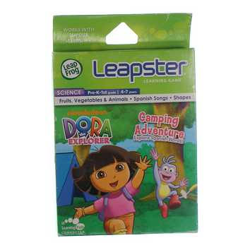 Leapster Learning Game: Dora The Explorer Camping Adventure for Sale on Swap.com