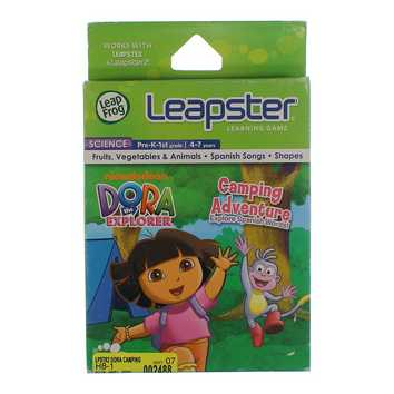 Leapster Learning Game: Dora's Camping Adventure for Sale on Swap.com