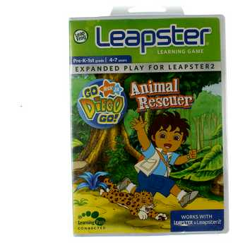 Leapster Learning Game: Go Diego Go! Animal Rescuer for Sale on Swap.com