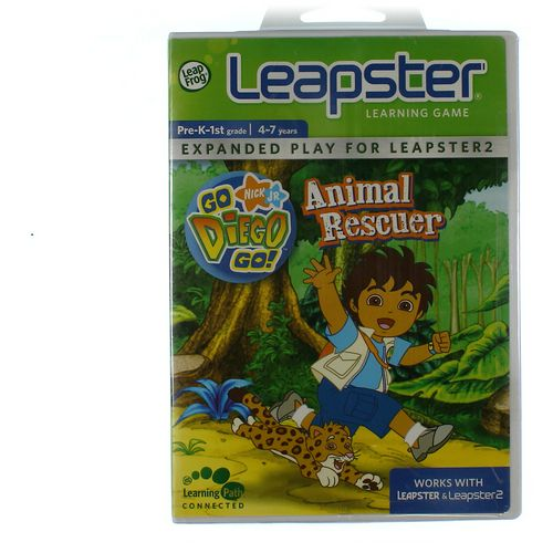 LeapFrog Leapster Learning Game: Go Diego Go! Animal Rescuer at up to 95% Off - Swap.com