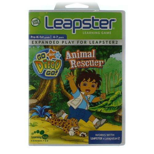 My First LeapPad Leapster Learning Game: Go Diego Go! Animal Rescuer at up to 95% Off - Swap.com