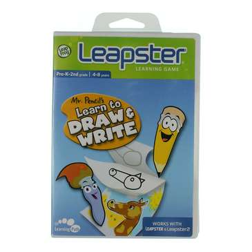 Leapster Learning Game: Mr.Pencil's Learn To Draw & Write for Sale on Swap.com