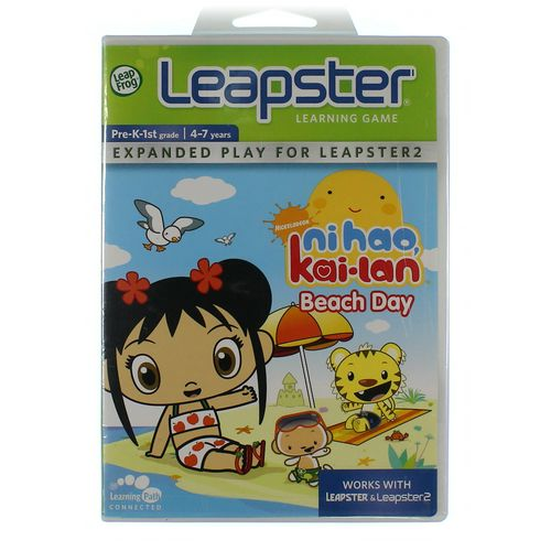LeapFrog Leapster Learning Game: Ni Hao, Kai-lan Beach Day at up to 95% Off - Swap.com
