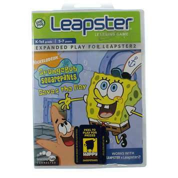 Leapster Learning Game: SpongeBob Saves the Day for Sale on Swap.com