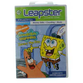 Leapster Learning Game: SpongeBob Squarepants Saves The Day for Sale on Swap.com