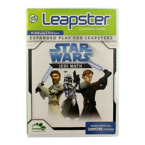 LeapFrog Leapster Learning Game: Star Wars Jedi Math at up to 95% Off - Swap.com