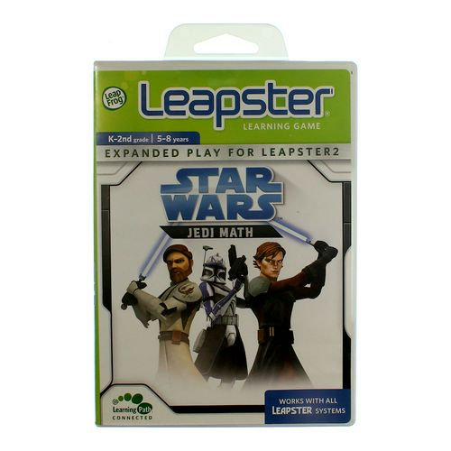 My First LeapPad Leapster Learning Game: Star Wars Jedi Math at up to 95% Off - Swap.com