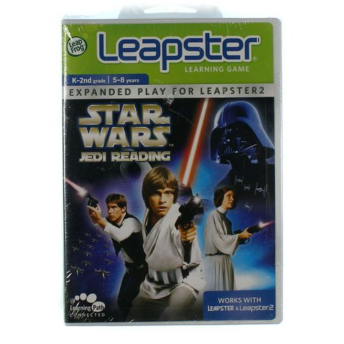 LeapFrog Leapster Learning Game: Star Wars Jedi Reading at up to 95% Off - Swap.com