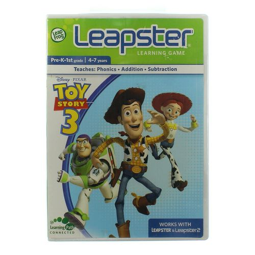 My First LeapPad Leapster Learning Game: Toy Story 3 at up to 95% Off - Swap.com