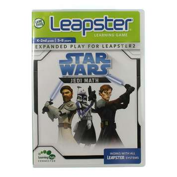 Leapster Star Wars Jedi Math Learning Game for Sale on Swap.com