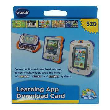 Learning app download card for Sale on Swap.com
