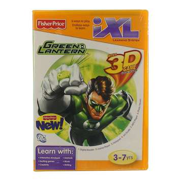 Learning System iXL Game: Green Lantern 3D for Sale on Swap.com