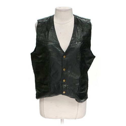 Italian Stone Design Leather Vest in size L at up to 95% Off - Swap.com