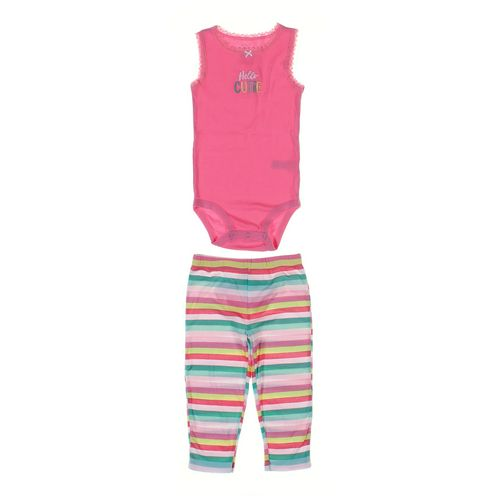 Carter's Leggings & Bodysuit Set in size 24 mo at up to 95% Off - Swap.com