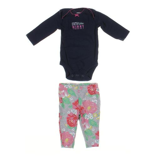 Carter's Leggings & Bodysuit Set in size 3 mo at up to 95% Off - Swap.com