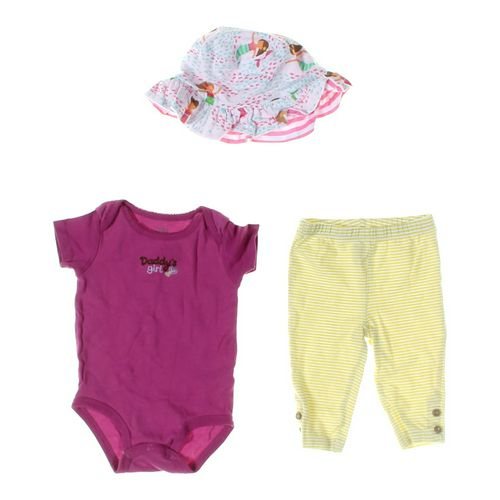 Carter's Leggings & Bodysuit Set in size 9 mo at up to 95% Off - Swap.com