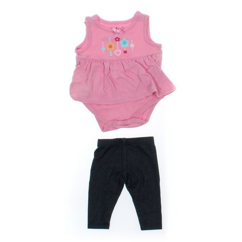 Okie Dokie Leggings & Bodysuit Set in size 3 mo at up to 95% Off - Swap.com