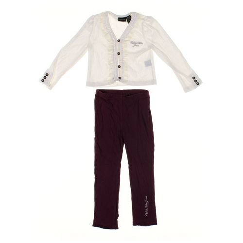 Calvin Klein Leggings & Cardigan Set in size 4/4T at up to 95% Off - Swap.com