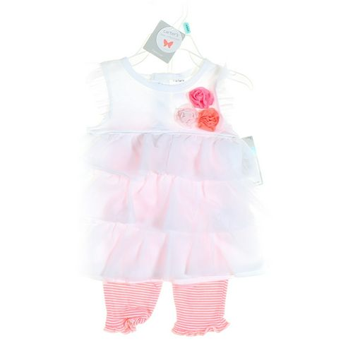 Carter's Leggings & Dress Set in size 6 mo at up to 95% Off - Swap.com