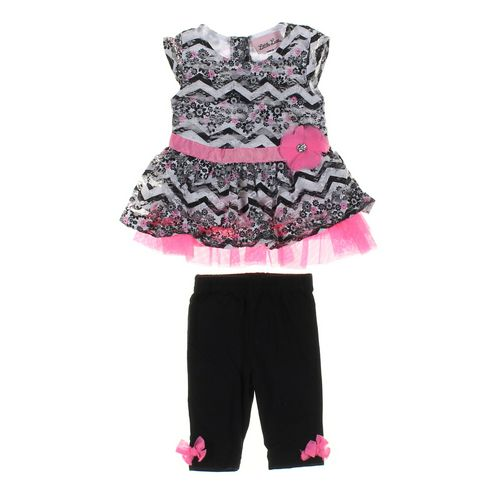 Little Lass Leggings & Dress Set in size 3 mo at up to 95% Off - Swap.com