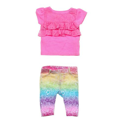 Garanimals Leggings & Shirt Set in size NB at up to 95% Off - Swap.com