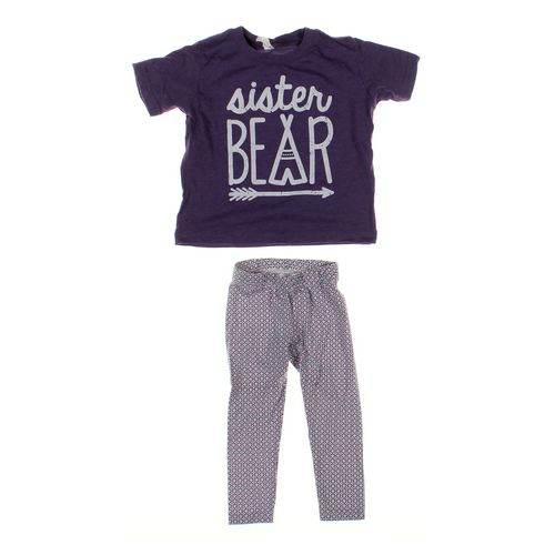 Carter's Leggings & T-shirt Set in size 2/2T at up to 95% Off - Swap.com