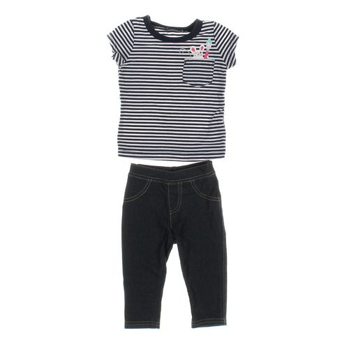 The Children's Place Leggings & T-shirt Set in size 6 mo at up to 95% Off - Swap.com