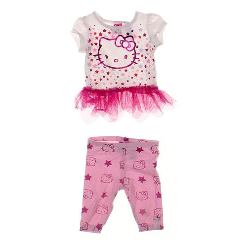 Hello Kitty Leggings & Tunic Set in size 12 mo at up to 95% Off - Swap.com