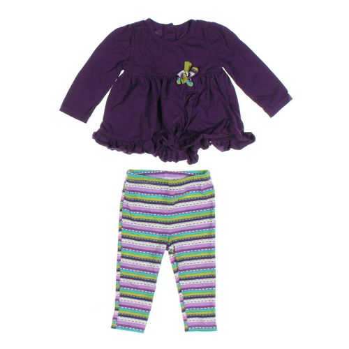 Kids Headquarters Leggings & Tunic Set in size 12 mo at up to 95% Off - Swap.com