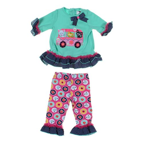 Rare Editions Leggings & Tunic Set in size 12 mo at up to 95% Off - Swap.com
