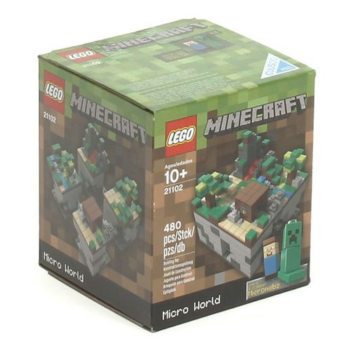 Lego LEGO Minecraft Micro World  at up to 95% Off - Swap.com
