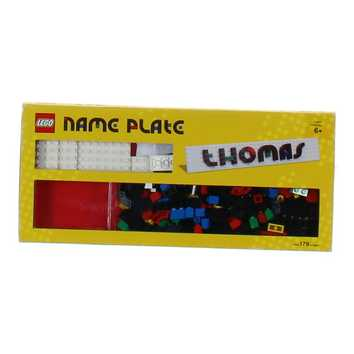 Lego Name Plate Building Toys for Sale on Swap.com