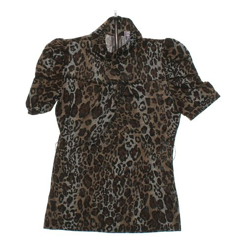 Soulmates Leopard Print Shirt in size JR 5 at up to 95% Off - Swap.com