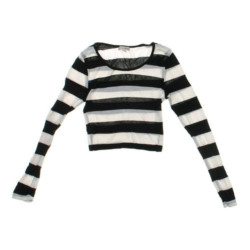 Zenana Outfitters Lightweight Striped Sweater in size JR 3 at up to 95% Off - Swap.com