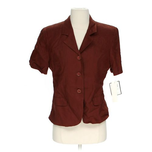 Bice Linen Short Sleeve Jacket in size 6 at up to 95% Off - Swap.com