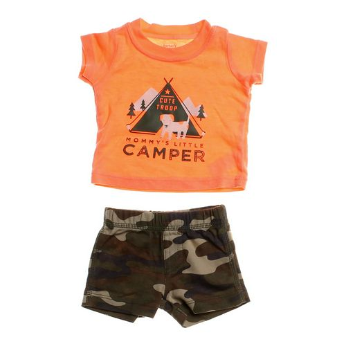 Carter's Little Camper Outfit in size NB at up to 95% Off - Swap.com