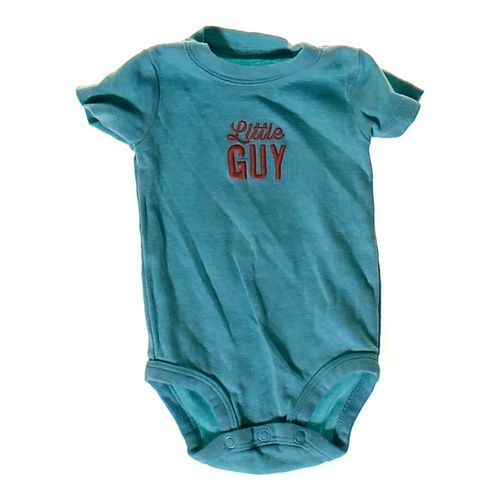 "Carter's ""Little Guy"" Bodysuit in size 3 mo at up to 95% Off - Swap.com"