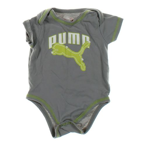 Puma Logo Bodysuit in size 6 mo at up to 95% Off - Swap.com