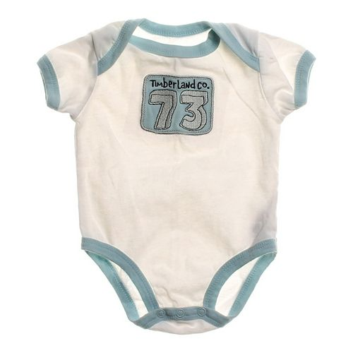 Timberland Logo Bodysuit in size NB at up to 95% Off - Swap.com