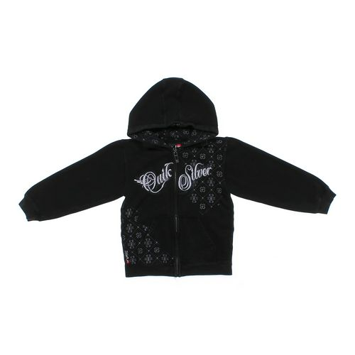 Quiksilver Logo Hoodie in size 6 at up to 95% Off - Swap.com