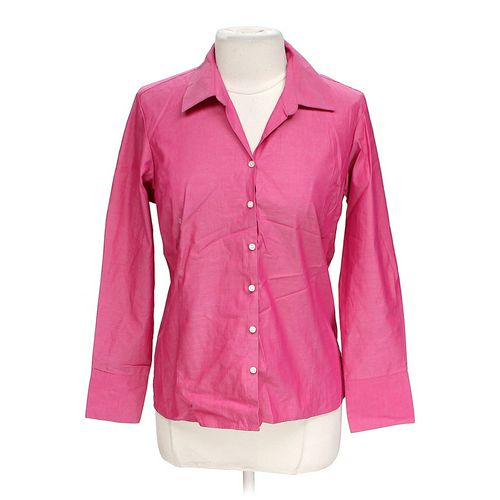Liz Claiborne Long Sleeve Button-up Shirt in size 12 at up to 95% Off - Swap.com