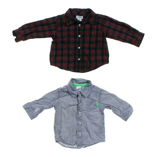 Carter's Long Sleeve Button-Up Shirt Set in size 3 mo at up to 95% Off - Swap.com