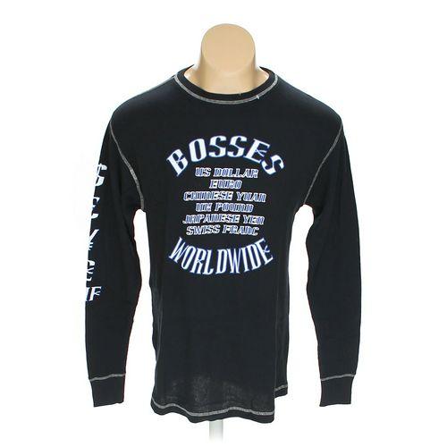 Bosses Worldwide Long Sleeve Shirt in size L at up to 95% Off - Swap.com