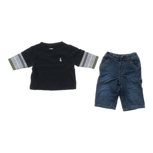 Gymboree Long Sleeve Shirt & Jeans Set in size 3 mo at up to 95% Off - Swap.com