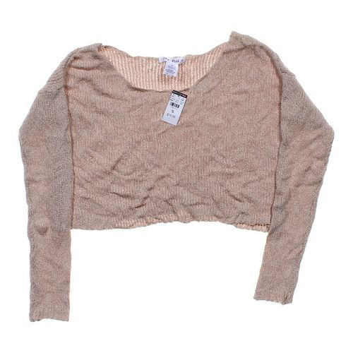 Say What? Loose Knit Cropped Sweater in size JR 3 at up to 95% Off - Swap.com