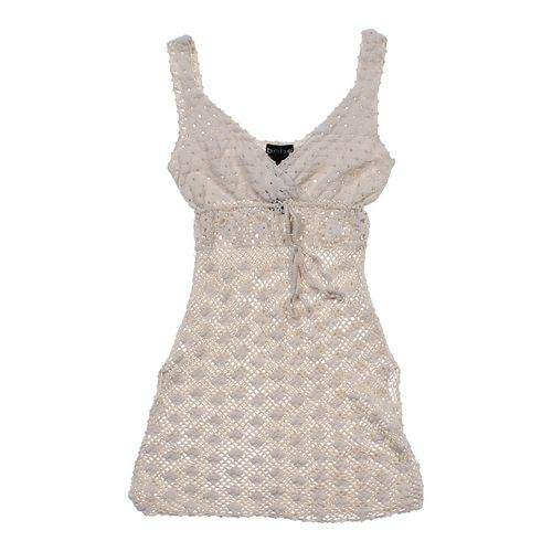bebe Loose Knit Sleeveless Layering Top in size JR 7 at up to 95% Off - Swap.com