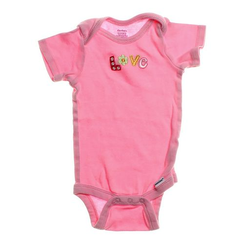 "Gerber ""Love"" Bodysuit in size 6 mo at up to 95% Off - Swap.com"